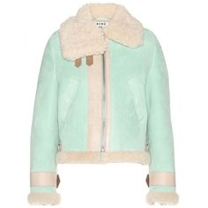Acne Studios Vera Shearling Jacket (£1,580) found on Polyvore