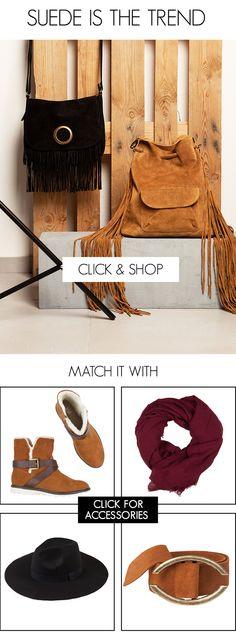 BSB Fashion Newsletter F/W 15/16 - Suede is the trend Shop online >> www.bsbfashion.com