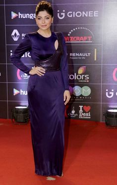 Kanika Kapoor at GiMA Awards event. #Bollywood #Fashion #Style #Beauty