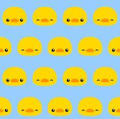 Cartoon Duck Head Wallpaper