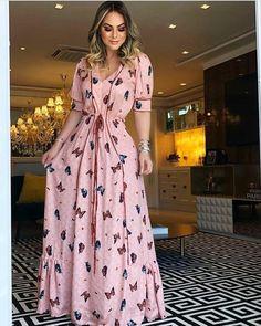 Bohemian maxi dress, boho style clothing, boho-chic clothes, gypsy summer long dress on boho boutique Hijab Fashion, Boho Fashion, Fashion Dresses, Fashion Looks, Womens Fashion, Bohemian Style Dresses, Bohemian Mode, Boho Dress, Boho Style