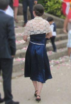 """Découvrez le tuto pour la réalisation de la robe de cocktail """"Mademoiselle Cobalt"""" - CRÉAetc"""