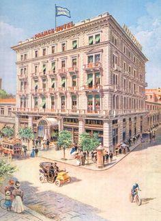 Photos of old Athens - Hotel Stadiou.