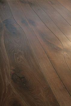 Irregular width wood floor planks from Waldilla
