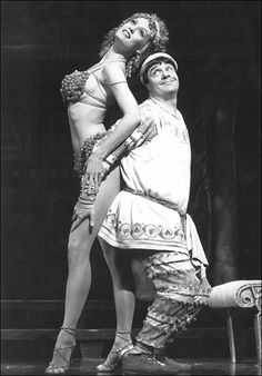 Nathan Lane funny | Leigh Zimmerman and Nathan Lane in A Funny Thing Happened on the Way ...  Awwww. Nathan Lane is so funny in this pic. I love and adore him so much in my heart.