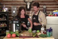 Tim Farmer's Country Kitchen ~ I just found this show and LOVE it!  Great recipes, homesteading, etc.  Skip the Moron Brothers singing.