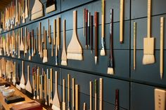 Calligraphy tools - Pigment store in Tokyo