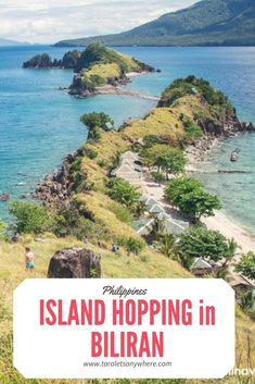 Island hopping in Biliran including the majestic Sambawan Island as well as Tingkasan Bat Cave, Higatangan Island, Dalutan Island and Capiñahan island.  Philippines Haben Sie mehr Informationen auf unserer Site   https://storelatina.com/philippines/blog #Filipayinzi #ਫਿਲੀਪੀਨਜ਼ #Placestovisit #Filipiny