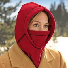 6-in-1 Fleece Hood, Ski Mask, Fleece Face Mask | Solutions