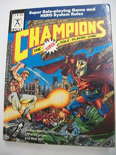 CHAMPIONS the Super Role-playing Game