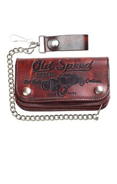 Lucky13 Wallet The Old Speed Oldschool,Tattoo,Pin up,Rockabilly,Custom Styles
