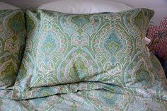 Flanged Pillow Sham DIY-417