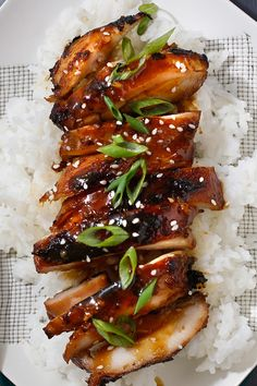 In japan, teriyaki is a mix of soy sauce, sake and the rice wine mirin, whi Seattle Teriyaki Recipe, Nytimes Recipes, Asian Kitchen, Soy Sauce, Teriyaki Sauce, Special Recipes, Grilling Recipes, Rice Wine, Asian Recipes