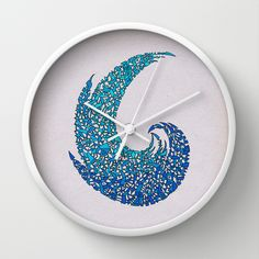 - new wave - Wall Clock