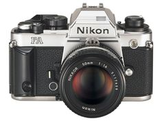 Nikon FA in silver chrome. Just got one for a great deal. I'm loving it, especially with the upgraded K3 type focusing screen from the recent FM3a.