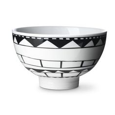 From Rörstrand. Bowl by Filippa K. Inspiration from African womens handicraft – The pattern of the year – Burkin, designed by Filippa K Shops, Scandinavian Interior Design, Simple Shapes, Nordic Style, Ceramic Bowls, Textures Patterns, Surface Design, Kitchenware, Color Pop