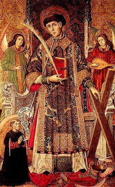 Saint Vincent, Patron Saint of Winemakers