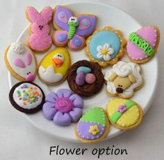 Detailed set of Easter / Spring Cookies for by StaceyMorganStudios $21.95