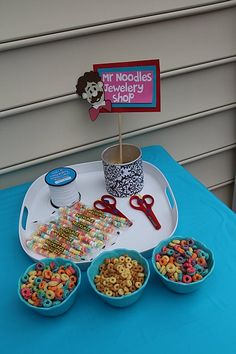 Busy project for the kiddos we set up for Elyssa's first birthday party. Used my Elmo's Birthday Party Cricut Cartridge