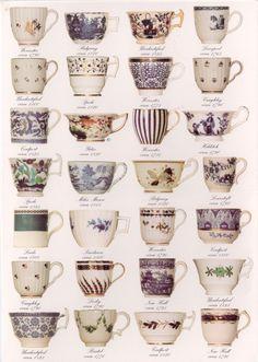 Tea cups 18C ~ 19C