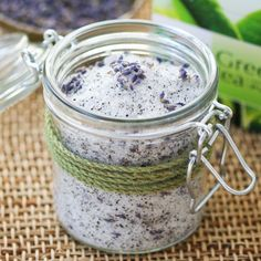 Lavender Green Tea Foot Soak | Thirsty for Tea