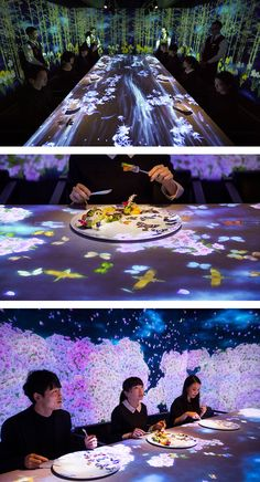 Hosting just eight lucky diners a night, Sagaya is an interactive restaurant that plays on the senses.