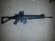 Another not airsoft :P Sig 556R