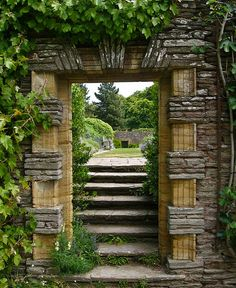 Garden Doorway. Photo by entireleaves on flickr. Via www.englishgardensphotos.com.