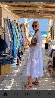 Marie Chantal Of Greece, Greek Royalty, Greece Vacation, Vacation Style, Persona, Paradis, Shirt Dress, Royal Families, Lifestyle