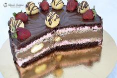 Tort festiv — Alina's Cuisine Tiramisu, Mousse, Cookies, Cake, Ethnic Recipes, Sweet, Desserts, Food, Kitchens