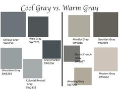 Gray is a popular color used throughout the home. Warm Gray cabinets are a perfect tone to use for kitchens, bathrooms, & other cabinets in your home.
