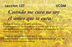 Un Curso de Milagros: UCDM - Leccion 137