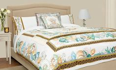 Homewares: Bedding & Towels Products Versace King Fitted Sheet 300cm x 300cm