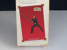 Hallmark 2002 Star Wars Luke Skywalker Ornament New MIB