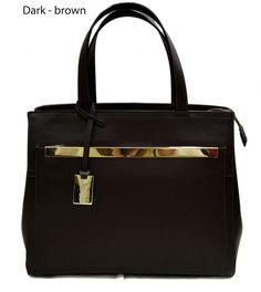 Leather ladies handbag shoulder bag luxury bag by ItalianHandbags