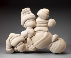 """a """"Gogotte"""" sandstone concretion, from Chartres in France."""