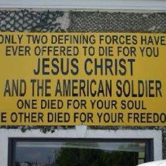 Jesus and US Military, THANK GOD!