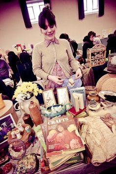Great for original collectables: The North London Vintage Market