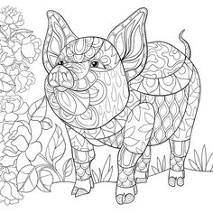 Download or Print the Free Piggly Wiggly Adult Coloring Page and find thousands of other Piggly Wiggly Adult Coloring Pages at GotColoringPages.com