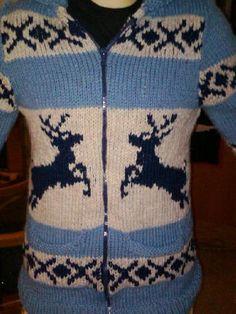 Reindeer sweater done by macflutie, via Flickr