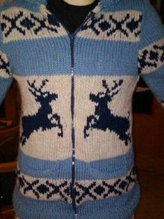 Reindeer sweater done by macflutie, via Flickr