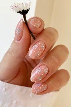 Best Acrylic Nails, Acrylic Nail Designs, Nail Art Designs, Bright Nail Designs, Flower Nail Designs, Black Nail Designs, Acrylic Gel, Short Nail Designs, Trendy Nail Art