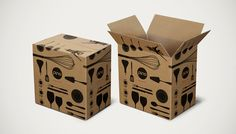 Icon Packaging #design