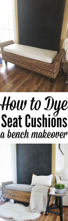 How To Dye Cushions