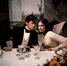 """Alain Delon y Claudia Cardinale en """"El Gatopardo"""", 1963"""