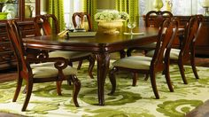 Clic Dining Room Legacy Table Chairs With Ribbon And