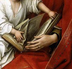 Weyden, Roger van der -- La Virgen con el Niño