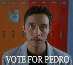 #NapoleonDynamite (2004) - #PedroSánchez Mustache Styles, Napoleon Dynamite, Movie Info, I Voted, The Fault In Our Stars, I Love To Laugh, Comedy Central, Parks And Recreation, Home
