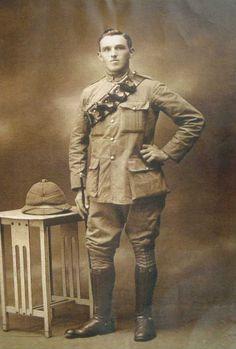 Burnley in the Great War Gunner Frederick George Sagar