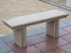Natural Stone Bench thats 1.2m long in Beige Granite Stone. The Bench top is Polished for easy maintenance